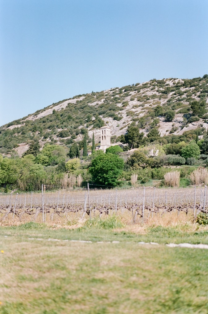 Venasque village in Provence