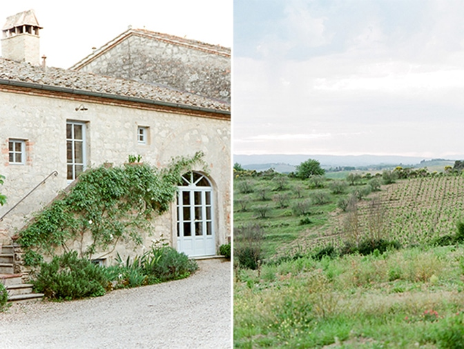 A luxury destination wedding venue in Tuscany, Italy