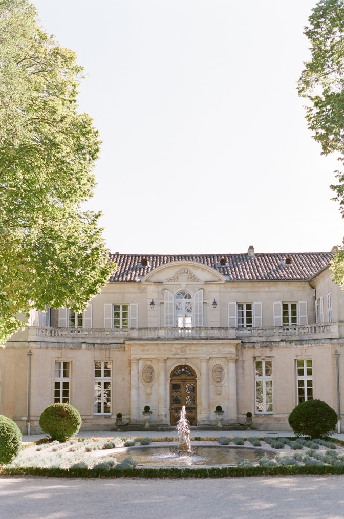 Frontal image of Chateau Martinay