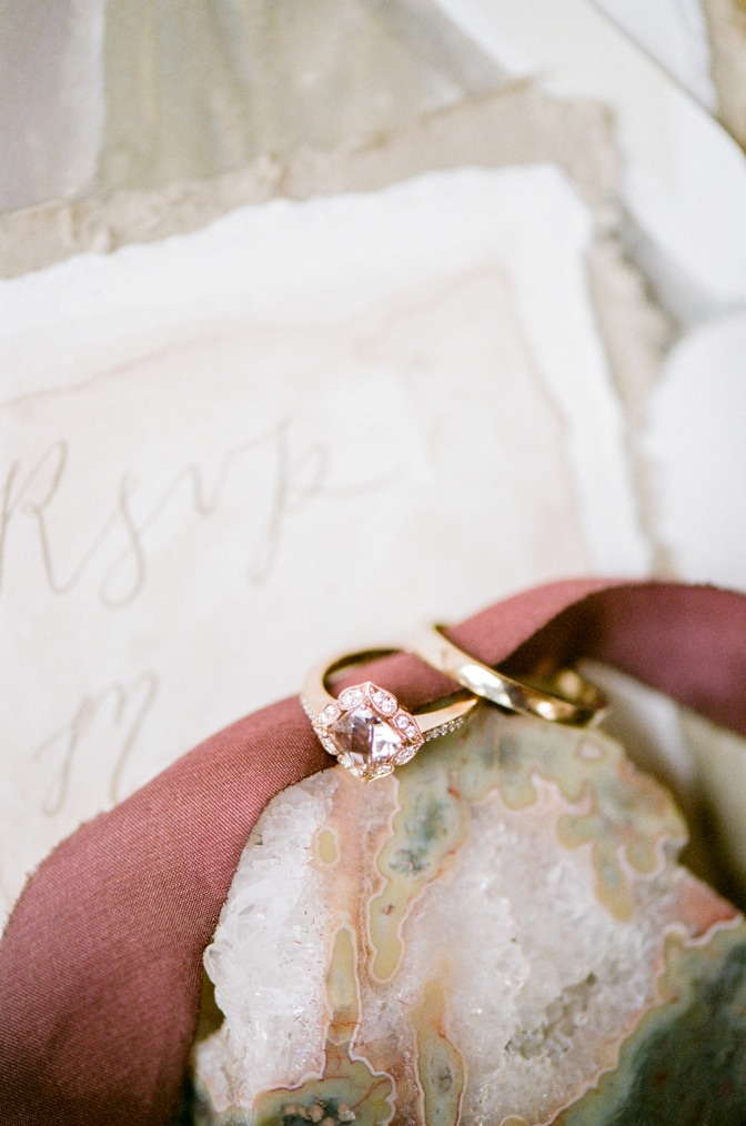 Luxury designer engagement rings with unique taste