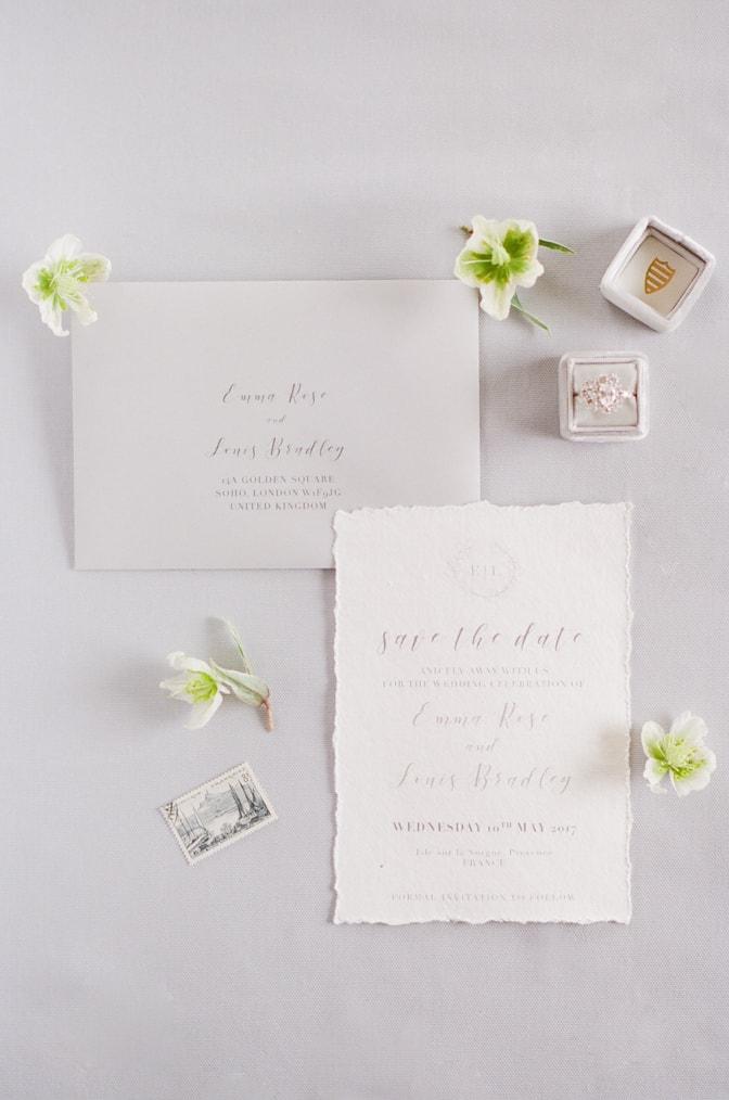 Unique and luxury handmade wedding inivations