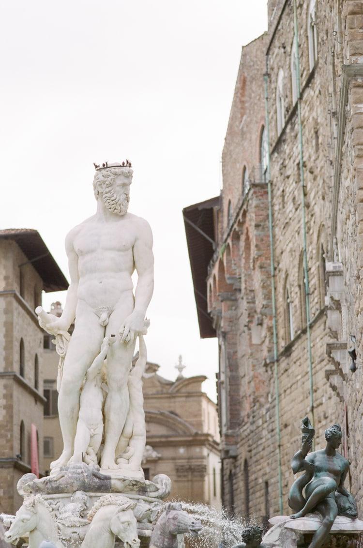 Neptun Statue near Palazzo Vecchio in Florence
