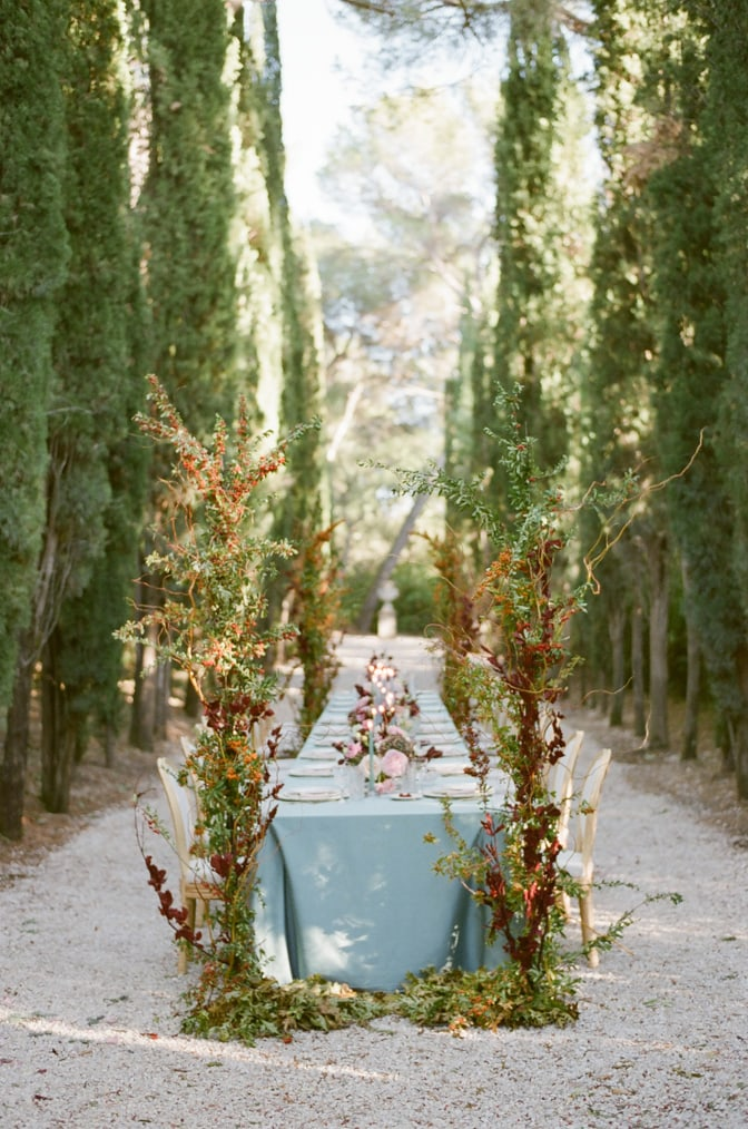 A GLAMOROUS FRENCH ELOPEMENT AT CHATEAU MARTINAY IN PROVENCE