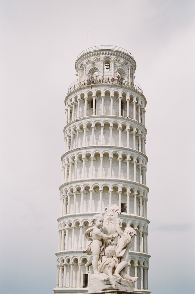 Leaning Tower in Pisa Italy