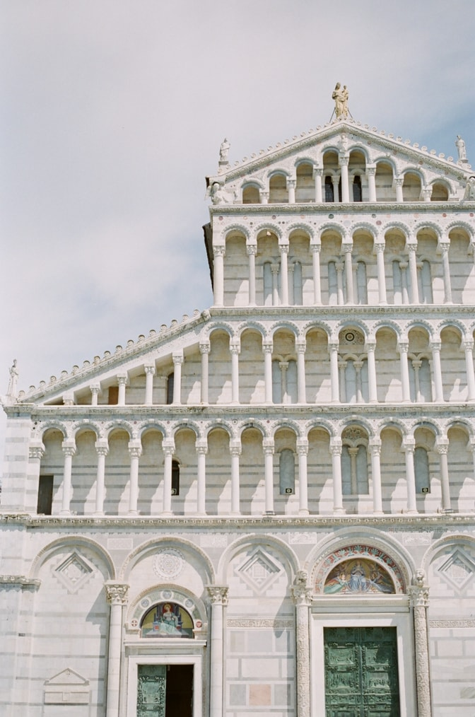 The Cathedral in the Square of Miracles in Pisa Italy