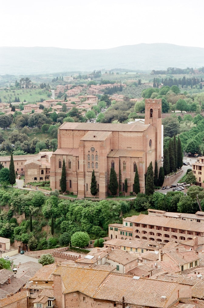 Siena the most beautiful and famous cities in Tuscany