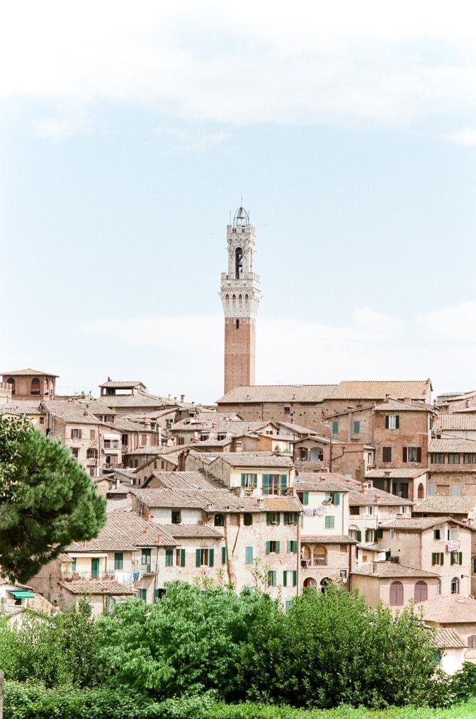Torre del Mangia in Siena Italy