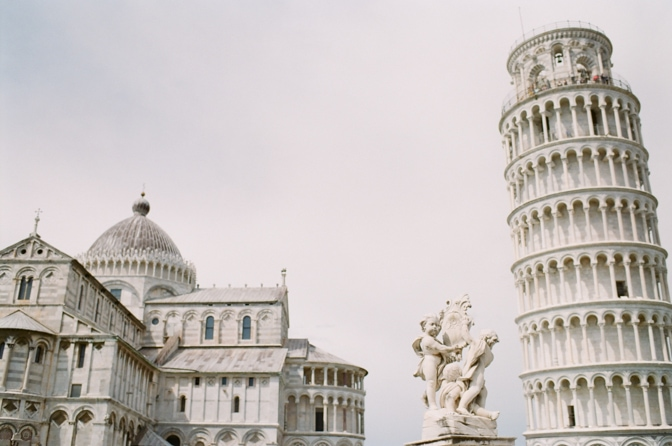 Miracle Square in Pisa Italy