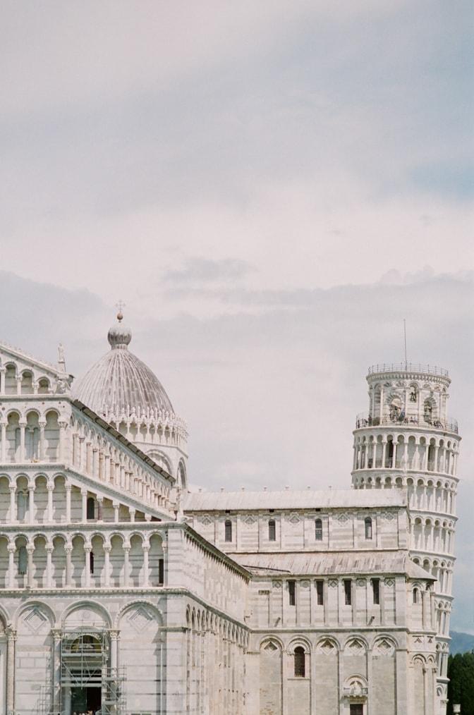 Piazza Dei Miracoli in Pisa Italy