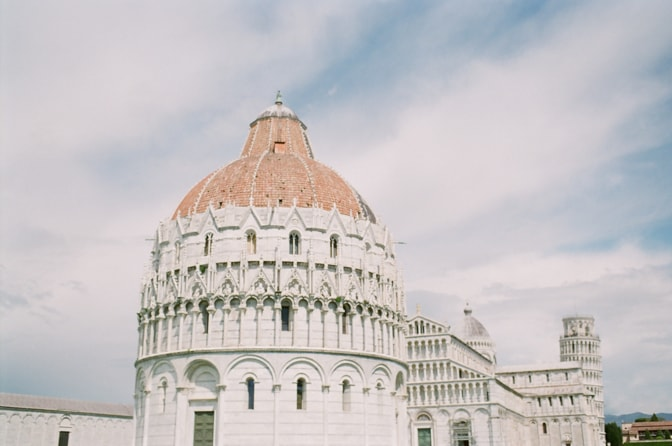 The Baptisery in Pisa Italy