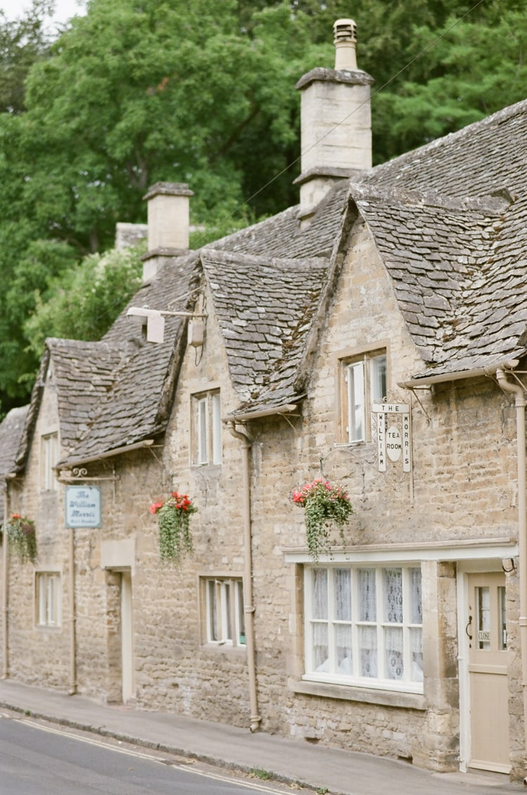 Arlington Row, a rowof beautiful weaver's cottages in Bibury in the Cotswolds
