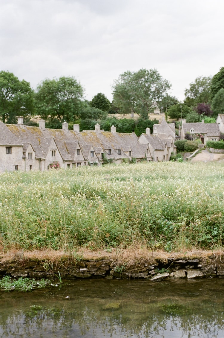 Arlington Row in Bibury, a rowof beautiful weaver's cottages