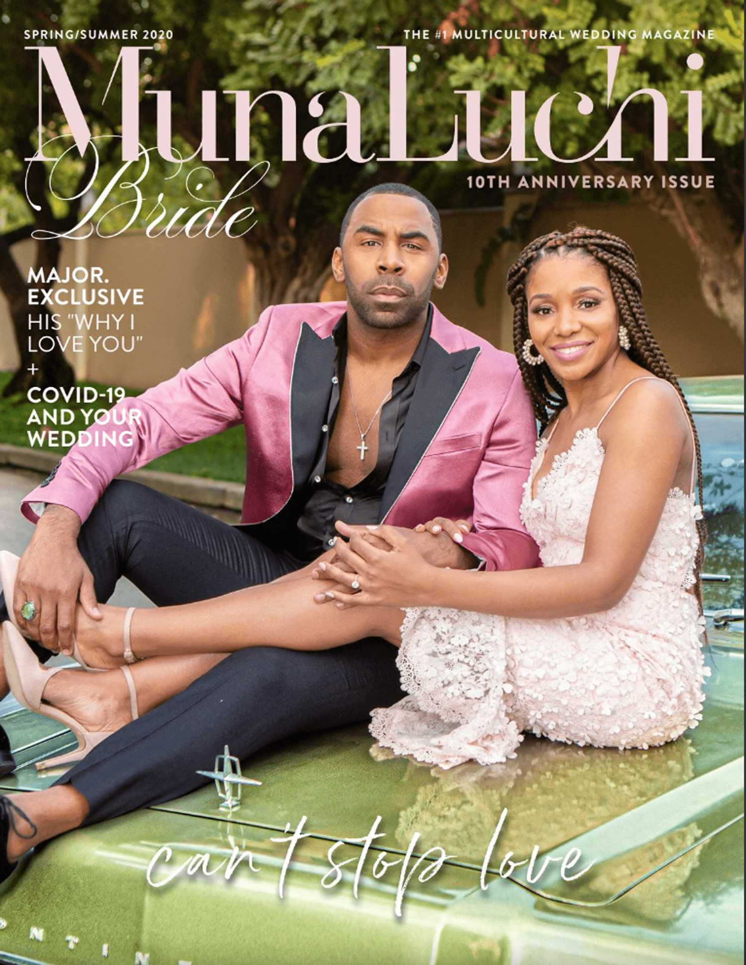 Cover of the lates Muna Luchi Bride Magazine Spring / Summer 2020 edition