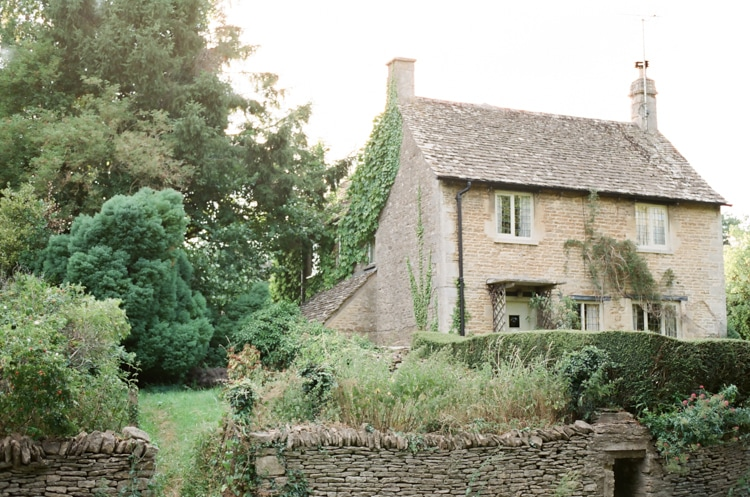 A house in Cirencester in the Cotswolds in England