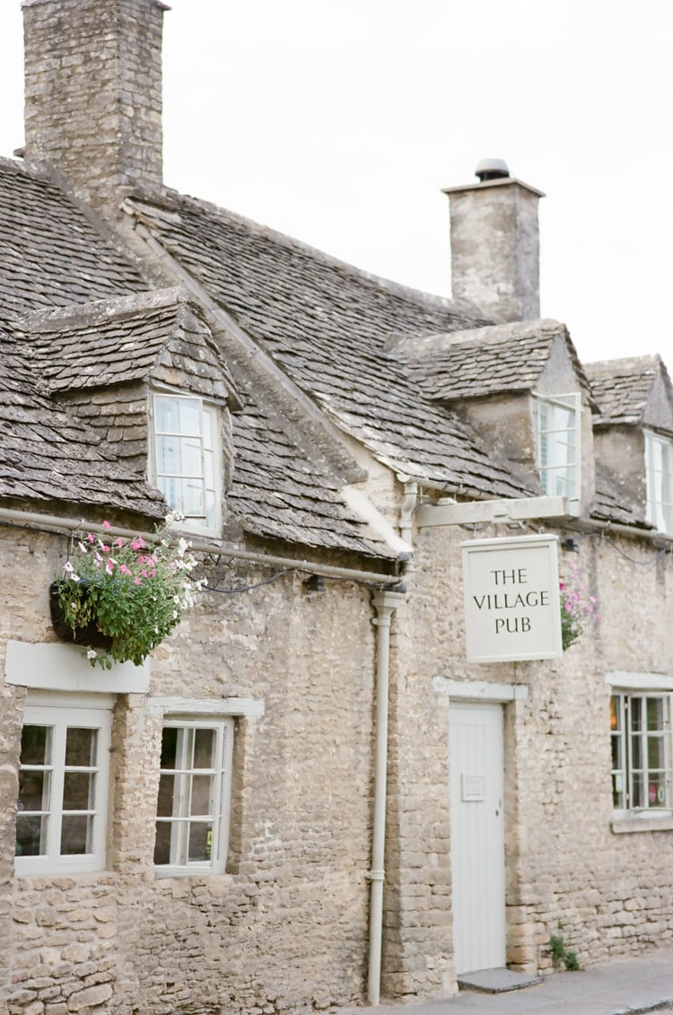 The Village Pub building in Cirencester in the Cotswolds in England