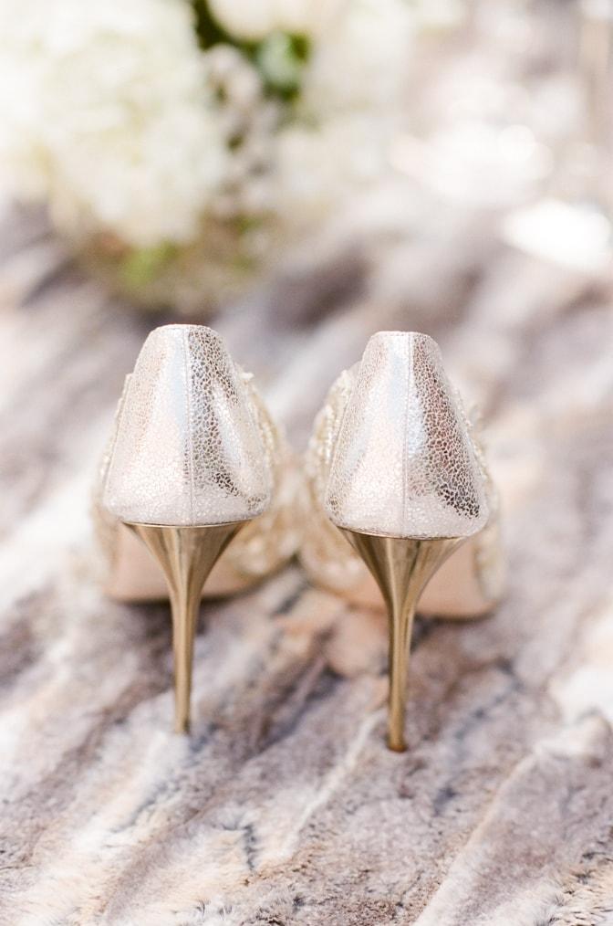 Luxury wedding shoes from Oscar de la Renta