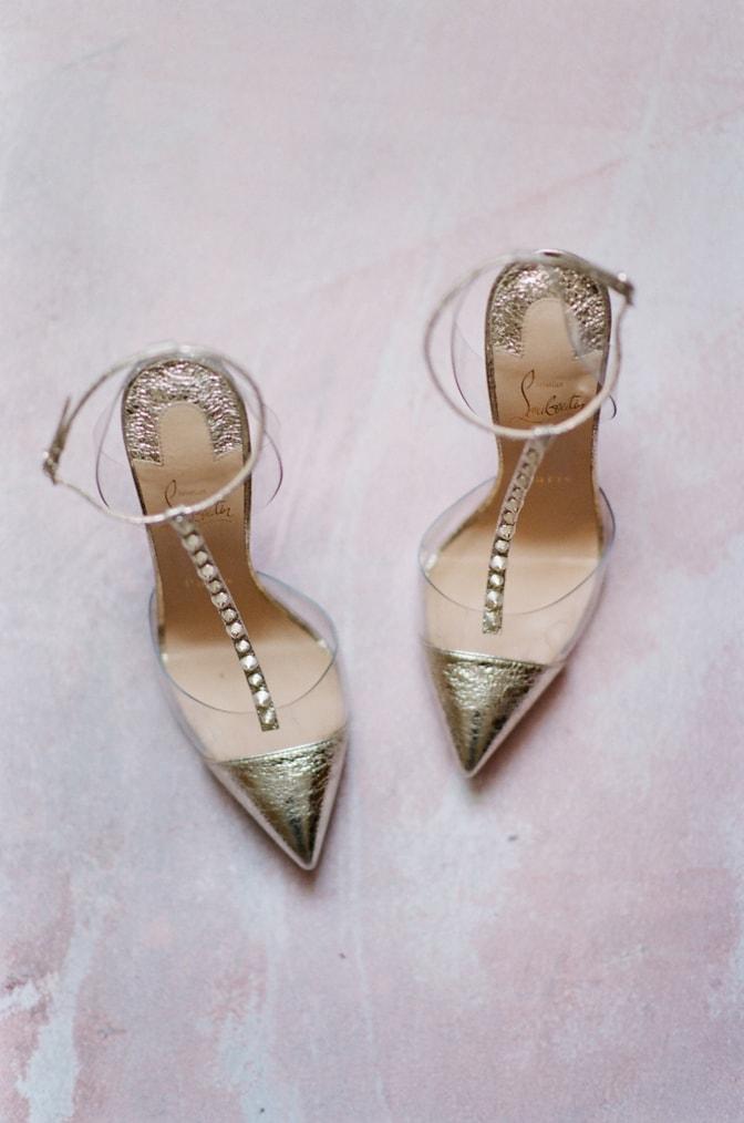 Luxury wedding shoe brand Louboutin