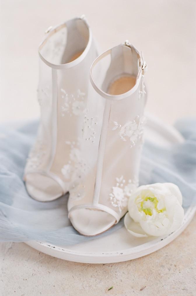 Luxury wedding shoes from Bella Belle