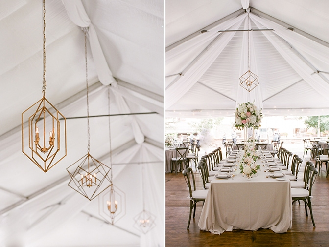 Tented reception at Larkspur Events and Dining in Vail