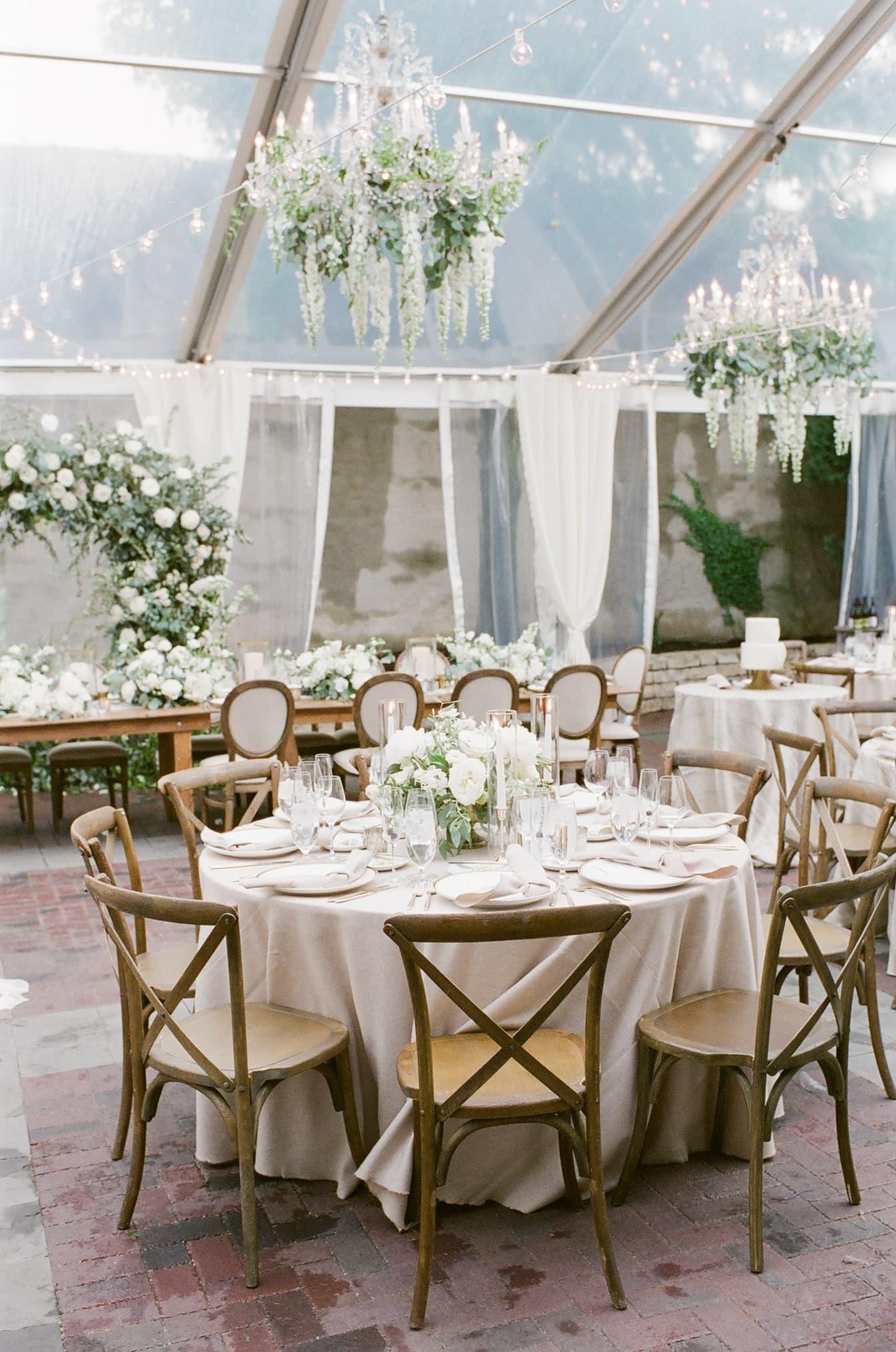 Wedding reception at Chicago Illuminating Company