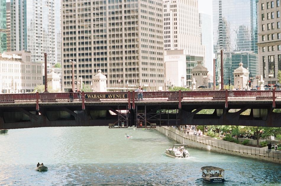 Wabash Street Bridge in Chicago