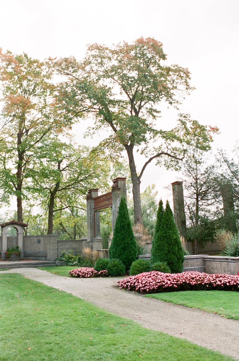 The gardens at Armour House Lake Forest
